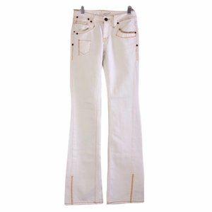 taverniti so off white flare jeans NWT RARE